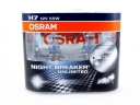 OSRAM H7 NIGHT BREAKER UNLIMITED +110% DUOBOX 55W ORYGINALNE